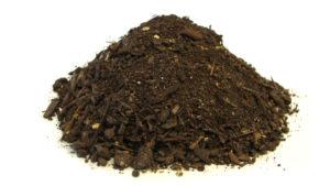 Ongezeefde compost
