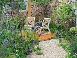 Heerlijk genieten van je tuin!