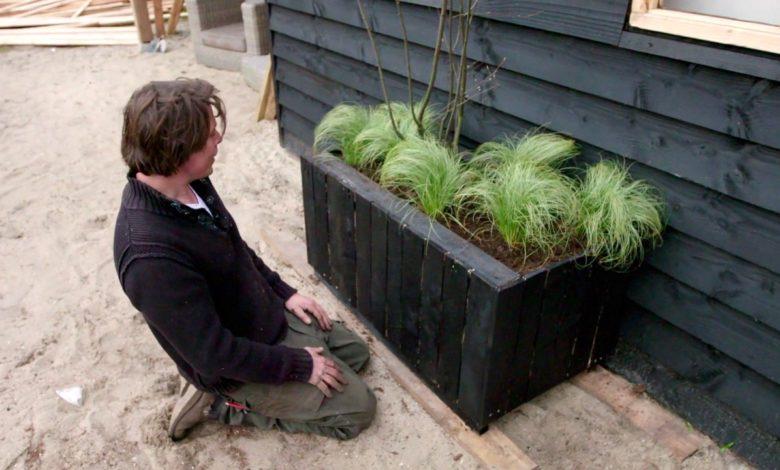 Beste Zelf een plantenbak maken van een pallet - 247Green.nl BR-84