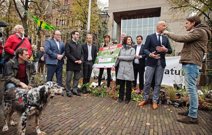 Actie Lodewijk: Ruim 22.500 handtekeningen voor de natuur!