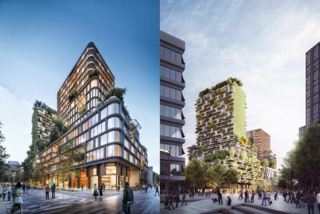 Wonderwoods in Utrecht: wonen en werken in een verticaal bos!